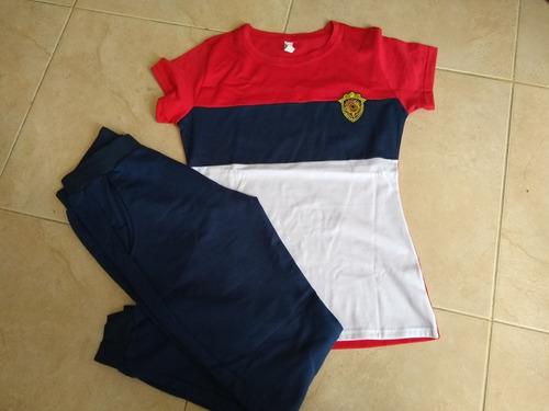 conjunto derpotivo blusa sudadera algodón lycrado