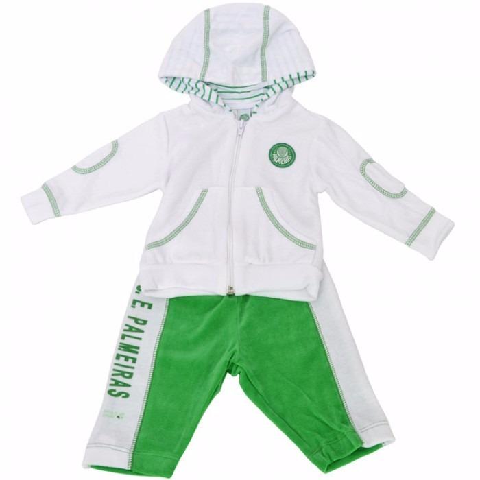 Conjunto Do Palmeiras Bebê Oficial E Licenciado c33ad044cc78b