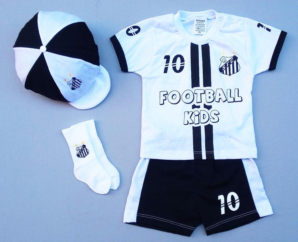 c4b62cc1af Conjunto Do Santos Fc Infantil