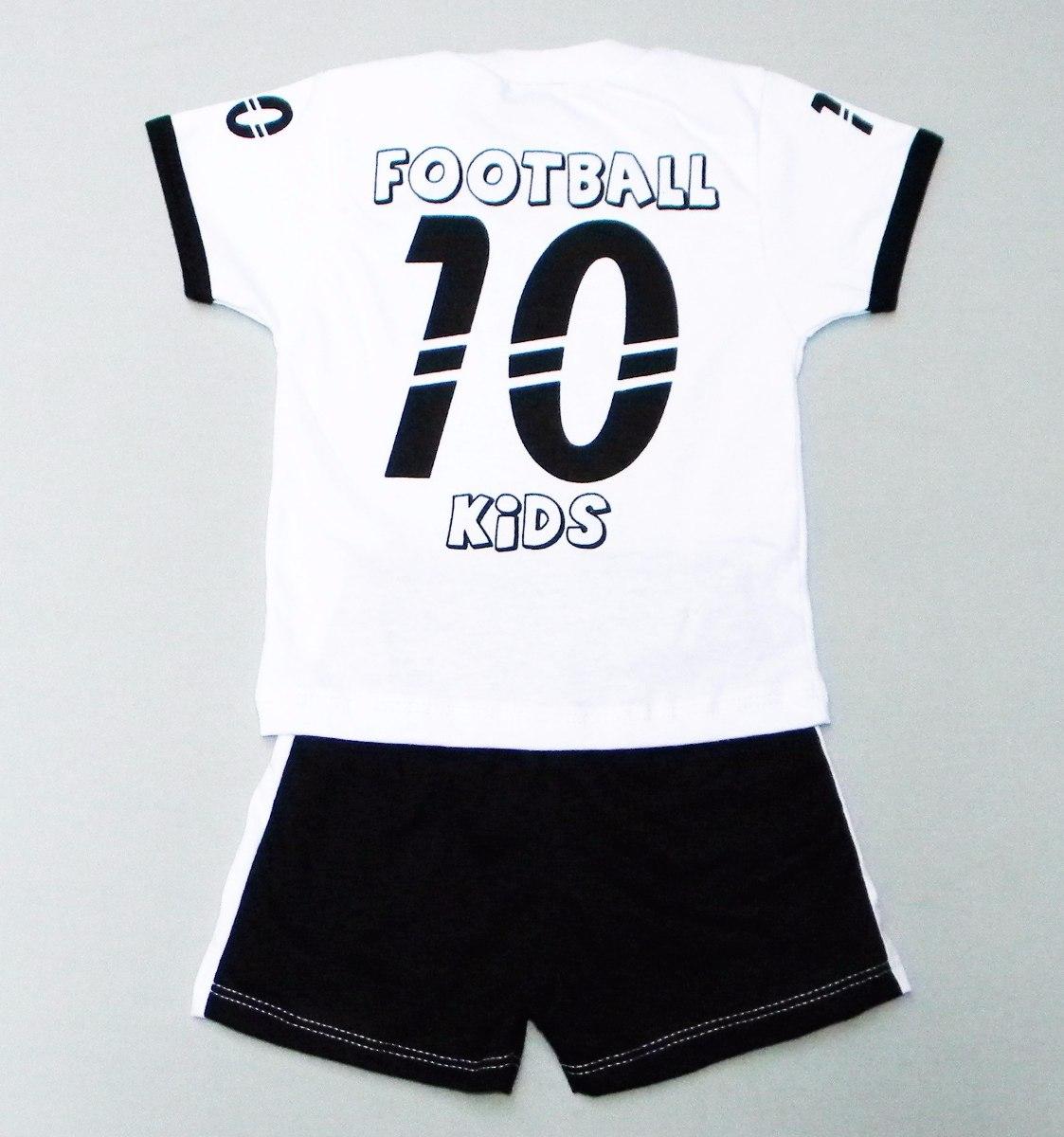 86a4b765b7 Conjunto Do Santos Fc Infantil
