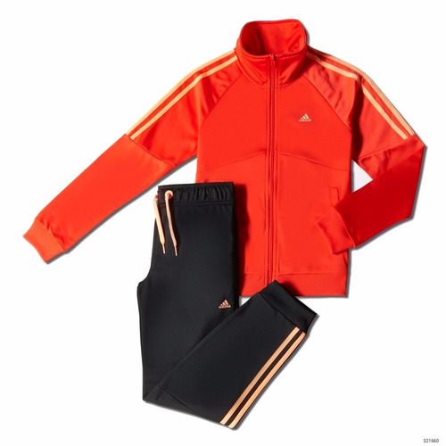 conjunto equipo adidas de niña deportivo pantalón campera