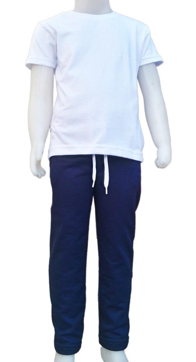 d216dbd167b conjunto escolar pantalon jogging y remera algodon sin frisa. Cargando zoom.