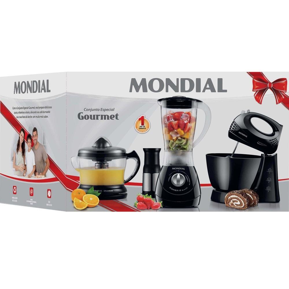 Kit Mondial Cozinha Completa Resimden Com