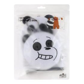 Conjunto Esponjas De Banho Ursos Sem Curso Panda Miniso