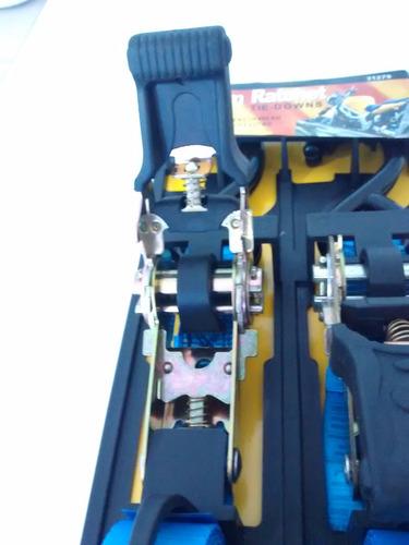 conjunto esticador 25mm, com catraca + cinta 3,6mts+ganchos
