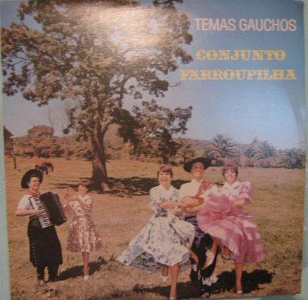 conjunto farroupilha - temas gaúchos - 1973/1981