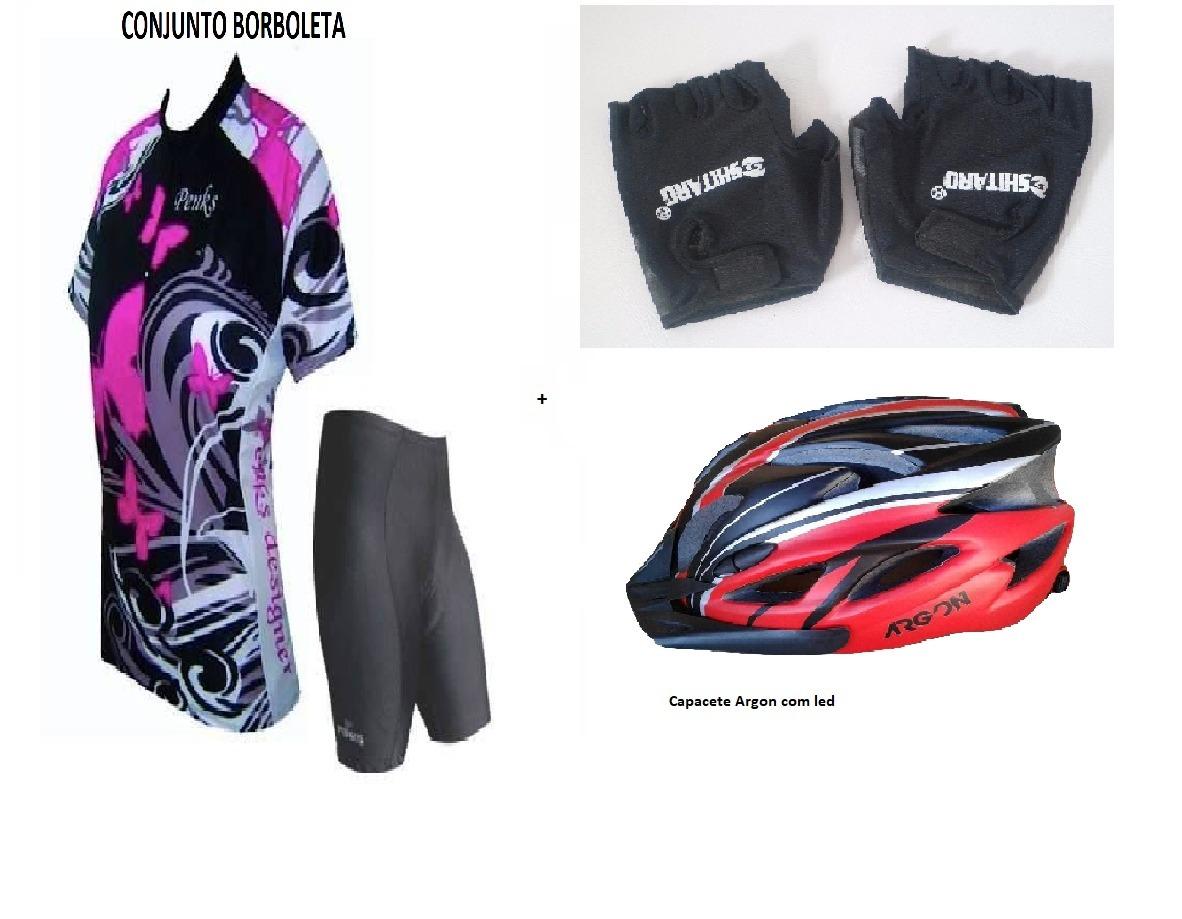 1d821556b8 conjunto feminino ciclismo bike short e camisa - roupa. Carregando zoom.