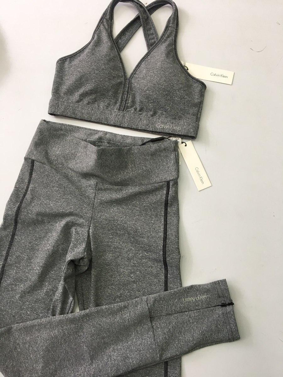 ac9e1ed20 conjunto feminino fitness calvin klein jeans original academ. Carregando  zoom.