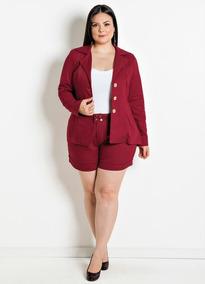 ad3c87121a Blazer Colorido Plus Size - Calçados