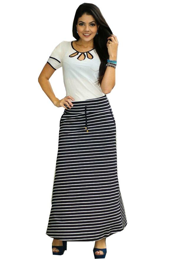 4be71cfba9 conjunto feminino saia longa + blusa gota moda evangélica. Carregando zoom.