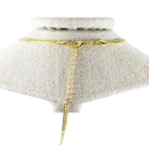conjunto feminino semijoia aramado banho ouro