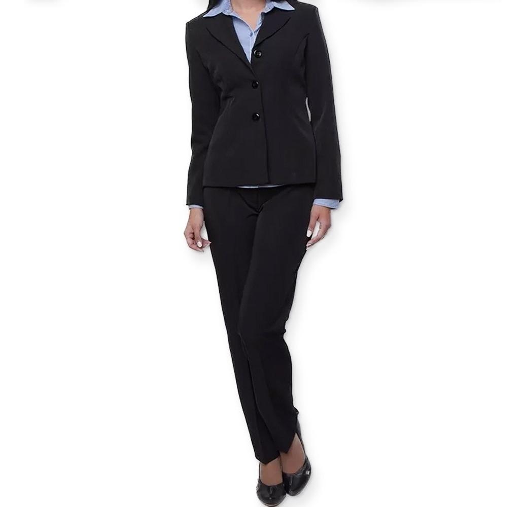 28ecb780f49f00 Conjunto Feminino Social Plus Size/ Blazer+calça