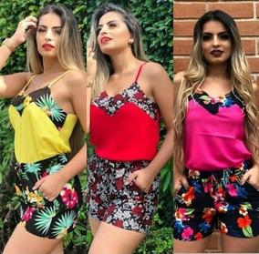 4437e0631 Conjunto Feminino Várias Estampas Moda Instagram