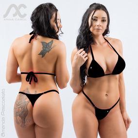 4722822f6 Conjunto Fio Dental Bikinis Anna Carol Hot Sexy Amanda Fdv-1