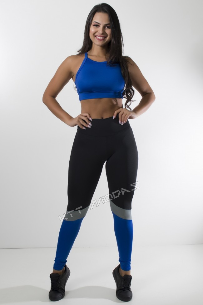 38f54beea conjunto fitness longo roupas academia ginástica musculação. Carregando zoom .