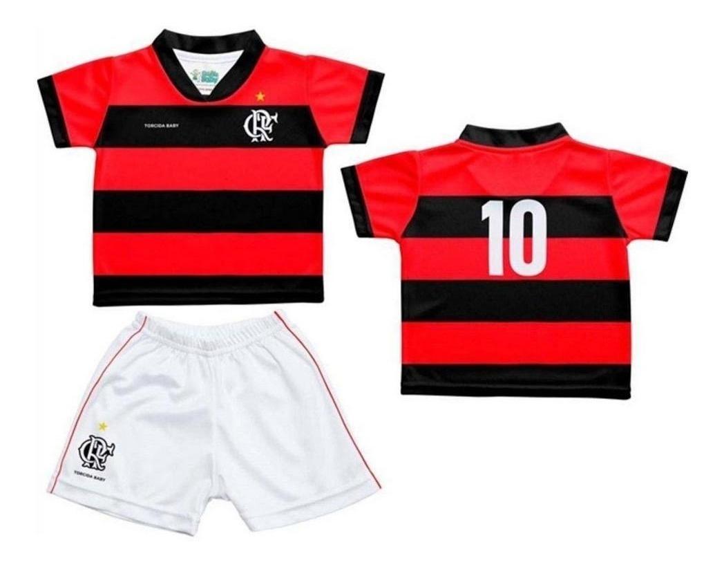 6d3f19d5b3 conjunto flamengo uniforme infantil oficial torcida baby. Carregando zoom.