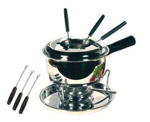 conjunto fondue inox viel