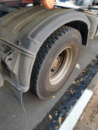 conjunto ford cargo 1933 ano 2013* e carreta baú são pedro