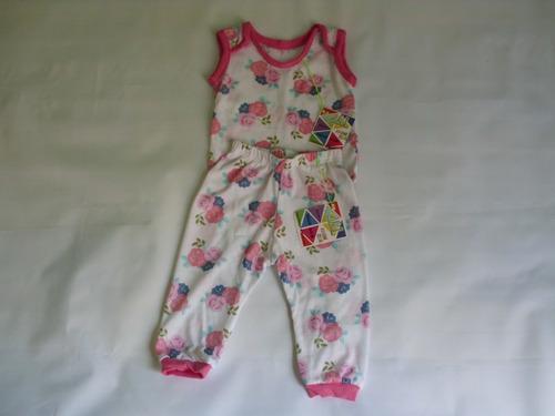 conjunto franela y monito ropa bebe niño 0-12m recien nacido