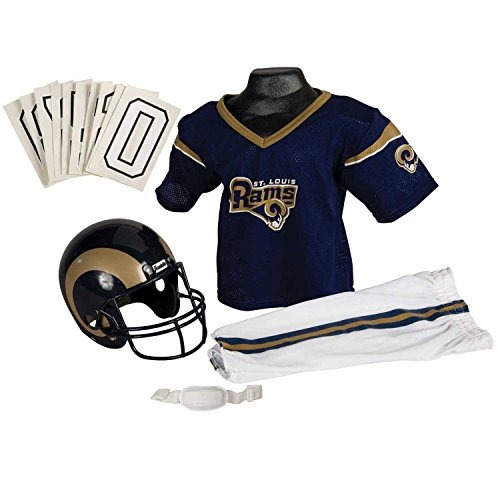 conjunto franklin sports nfl st. louis rams deluxe youth uni