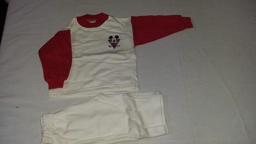 conjunto frizado buzo y pantalon jogging rosario talle 2