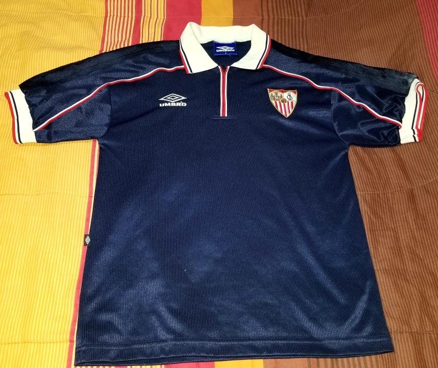 1812b831f7e05 Conjunto Fútbol Camiseta Short Sevilla Retro Envios -   1.000