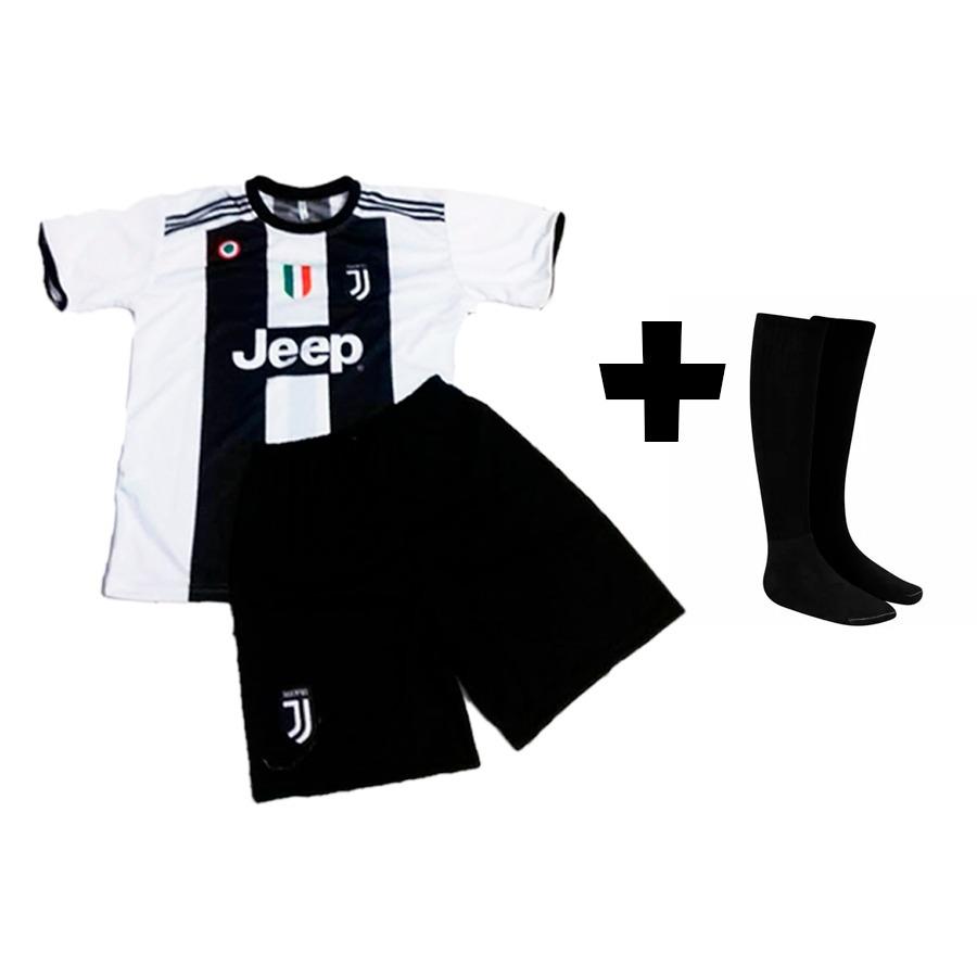 conjunto futebol com meião uniforme cristiano ronaldo cr7. Carregando zoom. f53aa47e556f5