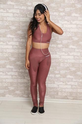 conjunto galaxy - moda fitness feminina