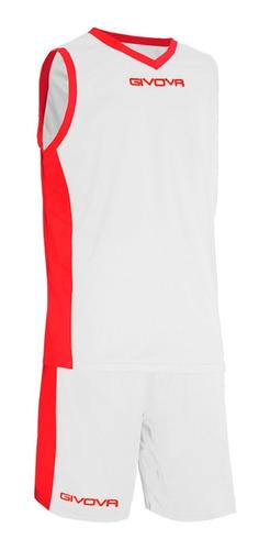 conjunto givova equipamiento short musculosa basketball c