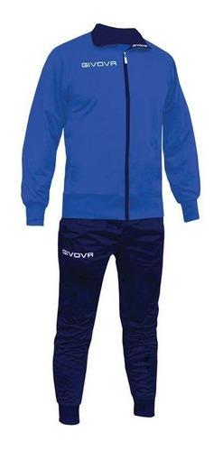 conjunto givova polyester hombre campera pantalón mvdsport