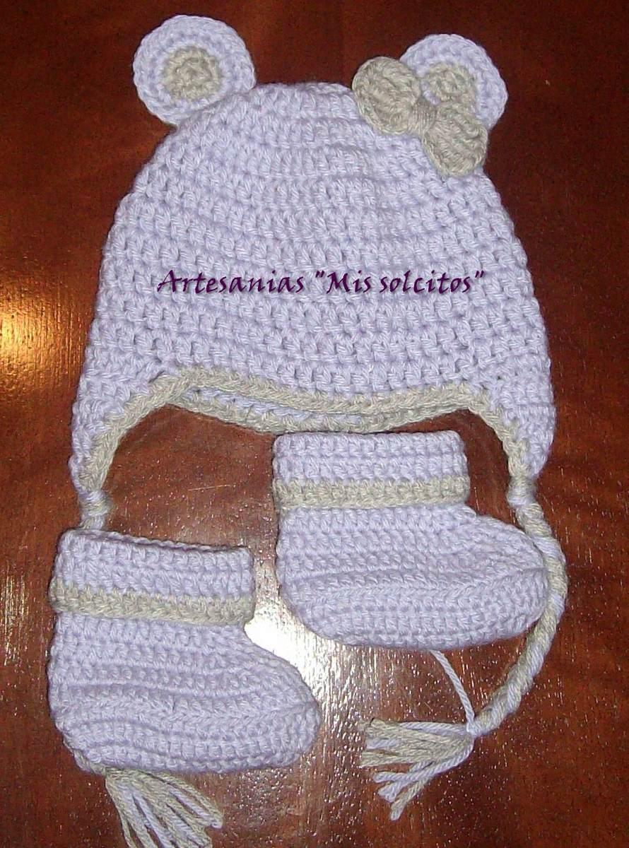 c2fbcca2d conjunto gorro y botitas para bebes  niños tejidos crochet. Cargando zoom.