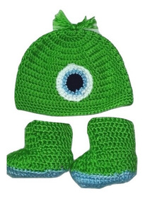 8bd45d9f27a Conjunto Gorro Y Patuco En Crochet Para Bebes - Ropa y Accesorios en ...