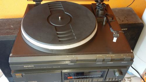 conjunto gradiente spect 87 com receiver ,deck e toca discos