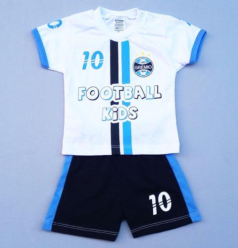 61b10db774 Conjunto Grêmio Para Bebê