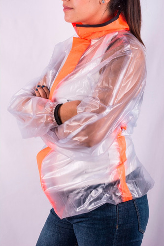 conjunto impermeable para mujer