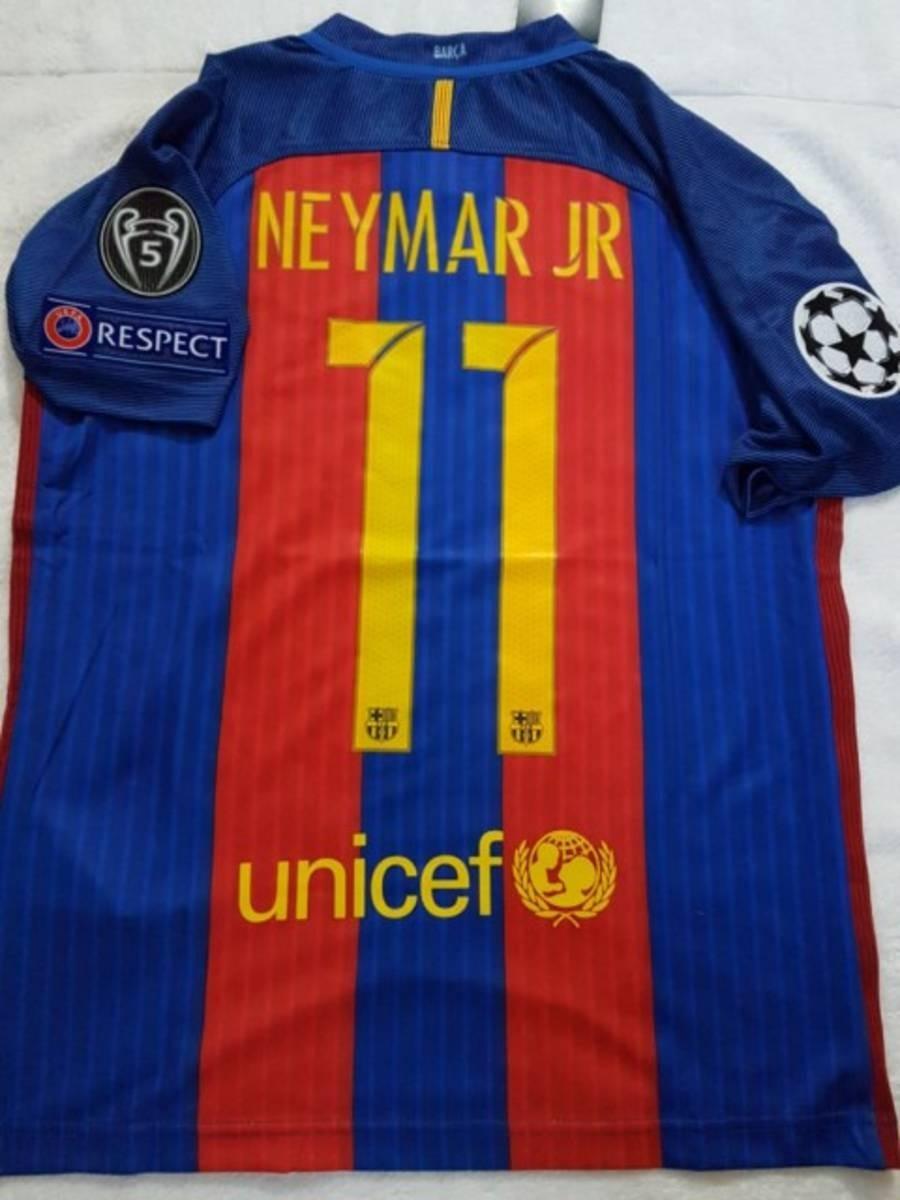 conjunto infantil barcelona -  11 neymar jr. - original. Carregando zoom. 84d3fbc688677