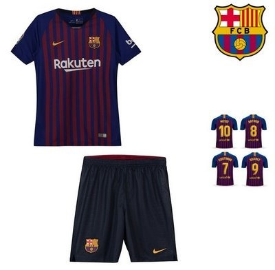 Conjunto Infantil Barcelona C meião 2019 (personalizada) - R  89 8d2117b6bc482