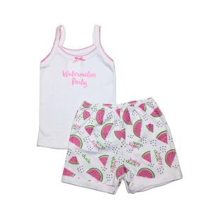 be059d572a Conjunto Infantil Bebê Menina Regata Shorts Verão Melancia