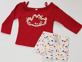 a599bcdcb0 Conjuntos Femininos Short Jeans - Conjuntos Infantis Com Short no Mercado  Livre Brasil