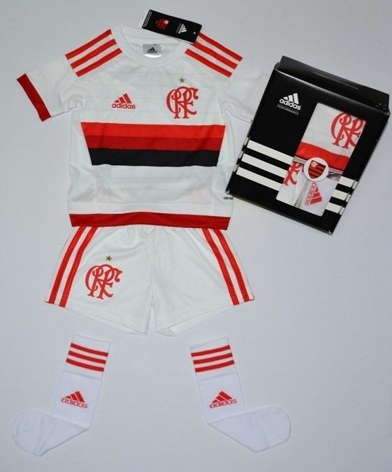 Conjunto Infantil Do Flamengo Kit Original Caixa Da adidas - R  65 ... 5cc7e84cfd01e