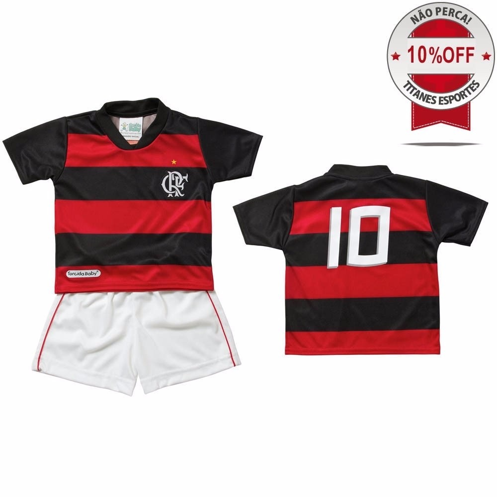 Conjunto Infantil Do Flamengo - Torcida Baby - 2 Ano - R  99 eb62d154c0087