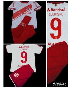 08e41238f9 Conjunto Infantil Do Internacional +meião+ Camiseta -short