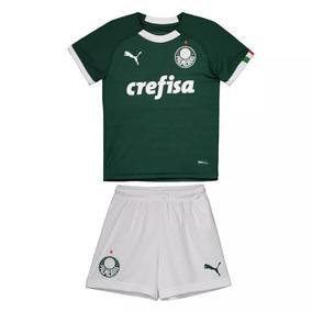 dc4b5d3b17 Camisa E Short Oficial Barcelona Infantil - Futebol no Mercado Livre Brasil