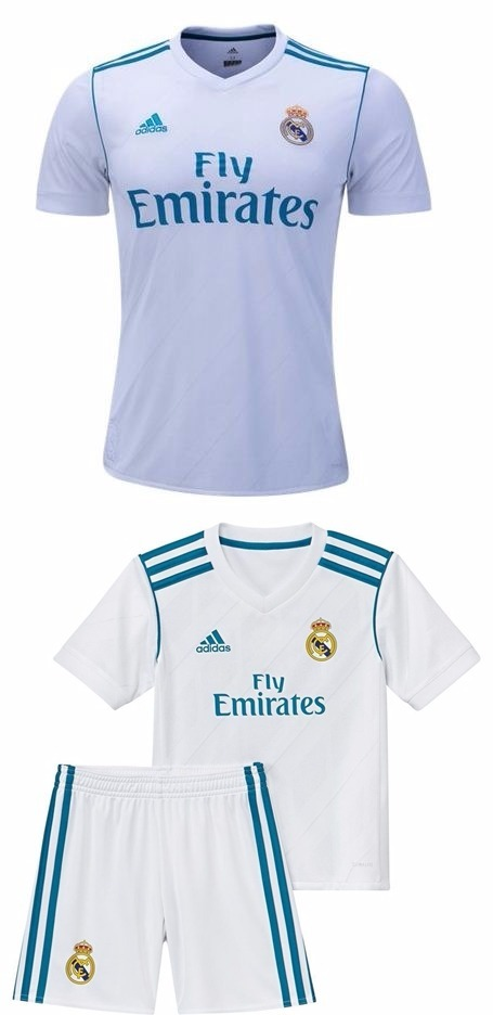 conjunto infantil do real madrid cr7 uniforme short e camisa. Carregando  zoom. f62cbc29a8f19