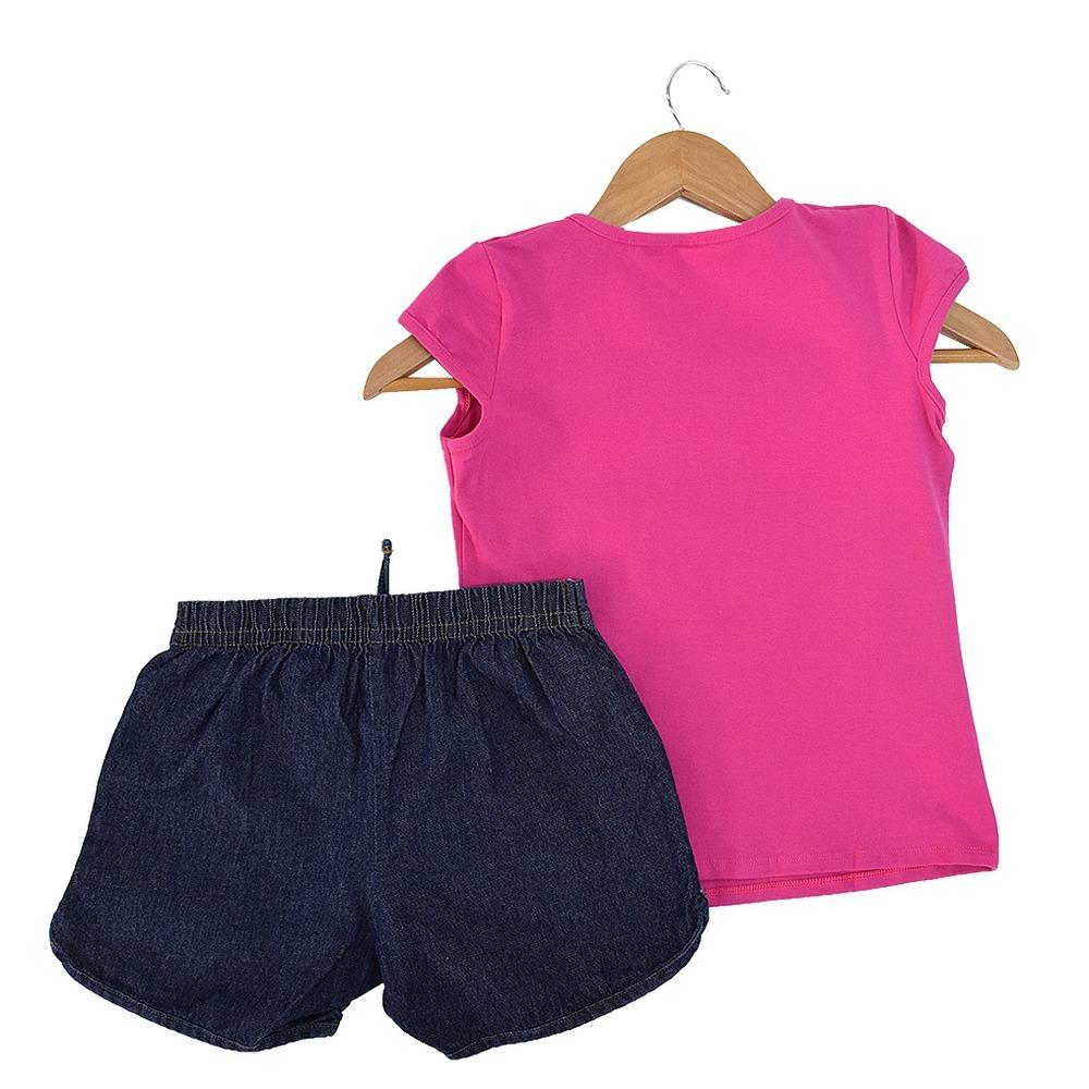 9ff2c3e5d Carregando zoom... conjunto infantil feminino - menina fashion - elian