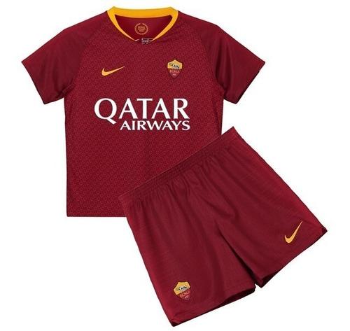 conjunto infantil futebol roma ( pronta entrega )
