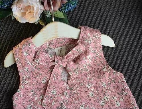 Conjunto Infantil Menina Verão Floral Casual - R  89 aa7e909a997