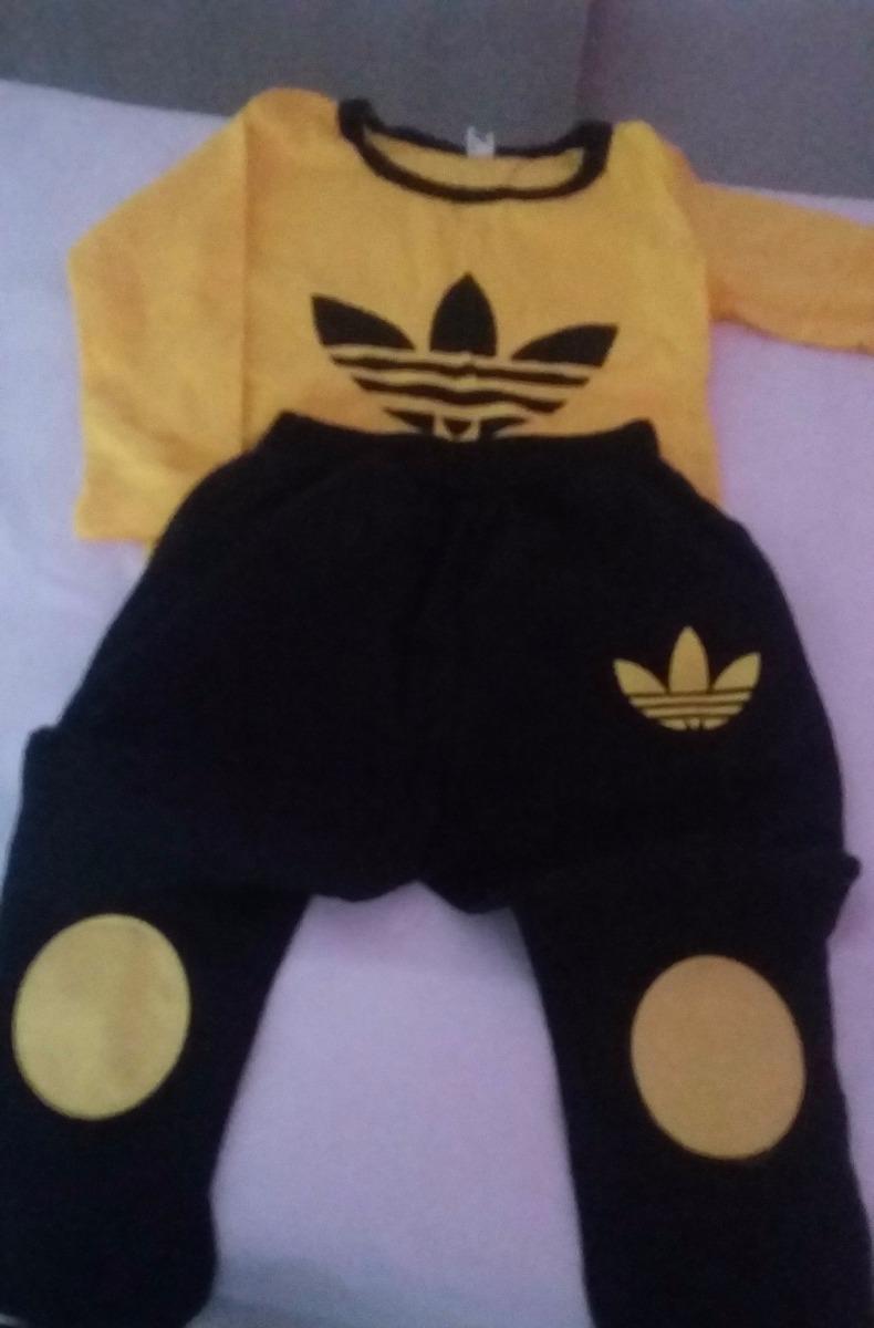 Conjunto Infantil Modelo Adidas Para Meninos De 5 A 6 Anos