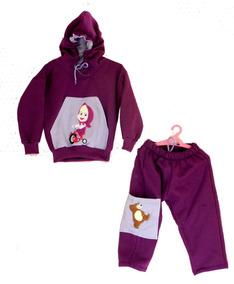 f0834cfd9afacb Conjunto Infantil Moletom Agasalho Frio Personagens Capuz