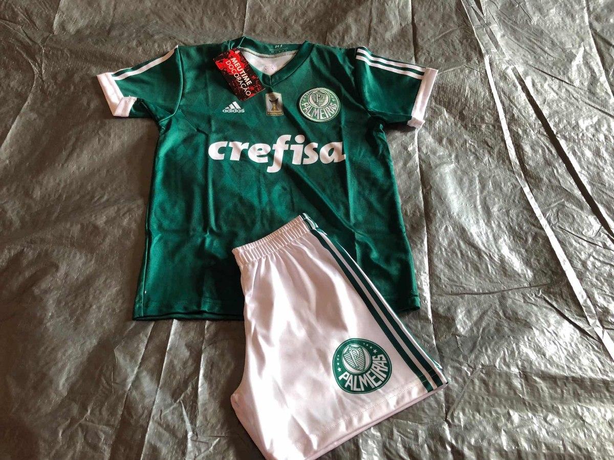 Conjunto Infantil Palmeiras Modelos Variados (personalizado) - R  75 ... e4b27f17d4e5d